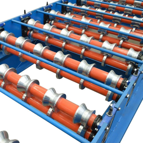 Hydraulic IBR Metal Sheet Roof Roll Forming Machine