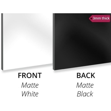 Matte White Aluminium Composite Panel 3MM