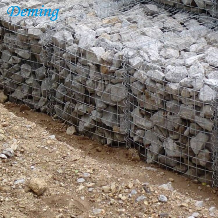 2 1 1m Galvanized Welded Gabion Basket Box