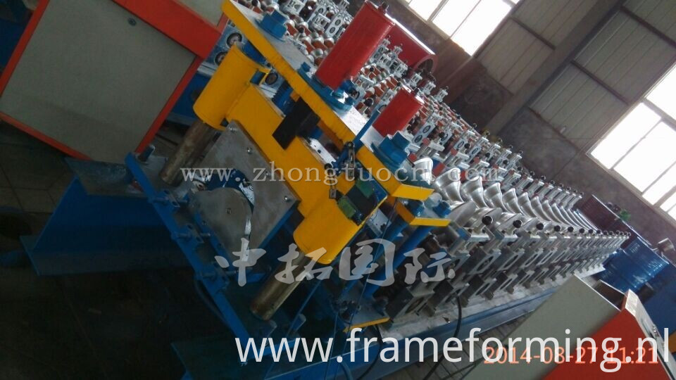 Metal Ridge Cap Tile Making Machine 02