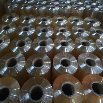 Jumbo Roll Pvc Plastic Wrapping Film 1000 meters