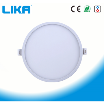 24W Integrated Rimless Round Concealed Mounted Panel Light