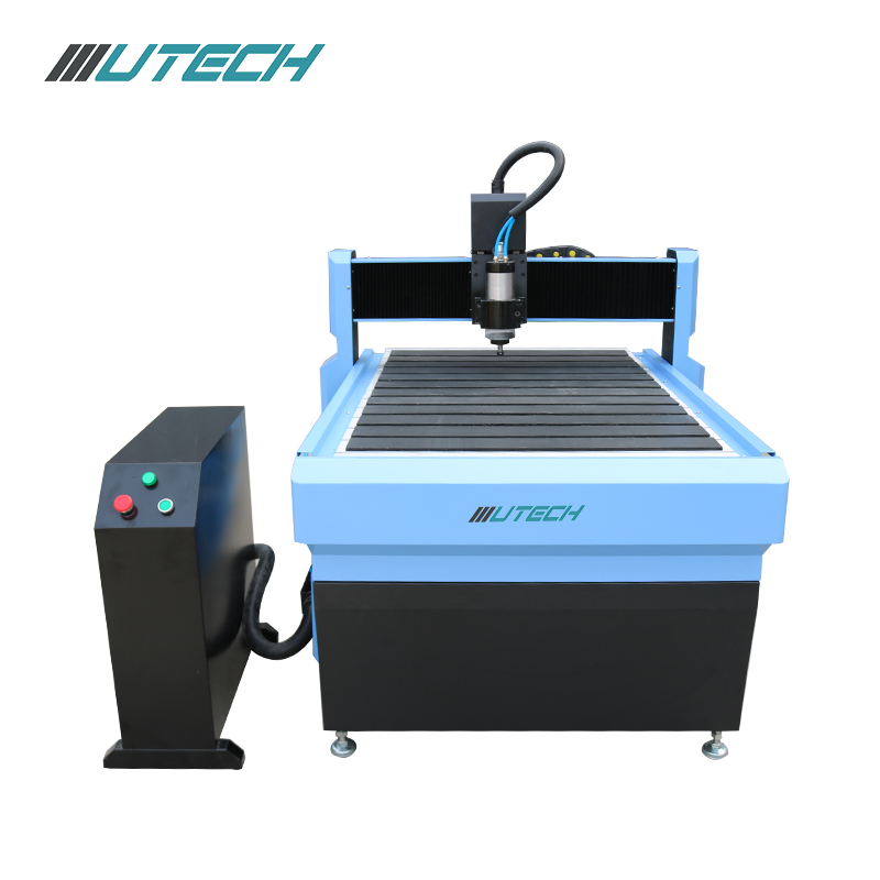 Cnc router for processing plastic with T-slot table