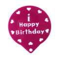 Birthday Cake Decorating Spray Stencil