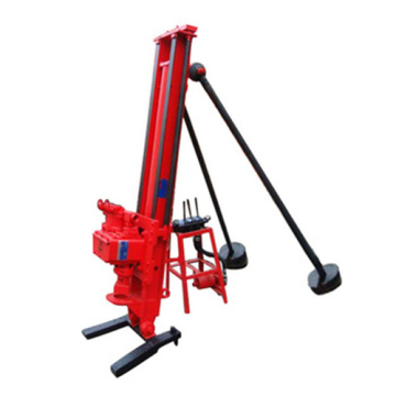 Portable Pneumatic Dth Drilling Rig Machine