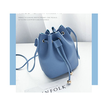 Fashion Morandi Bucket Bag For Women