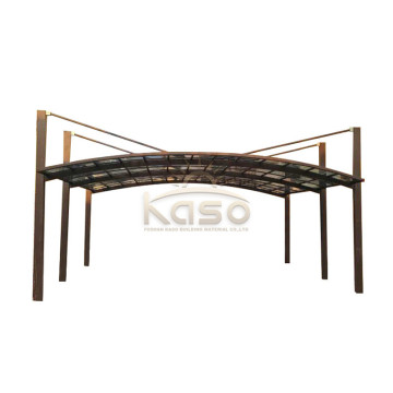 Pergola Parking AluminumMetal Car Port Polycarbonate Carport