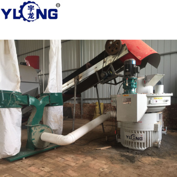 agricultural corn stalk wood pellet machine