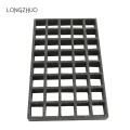 1220*3660mm Gritted Surface FRP Grating with Clips