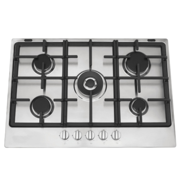 Smeg Gas Cooktop Stainless Steel 60cm