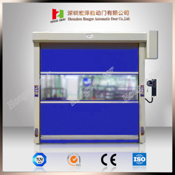Ngwaọrụ akpaka PVC High Speed ​​Rolling Shutter Door
