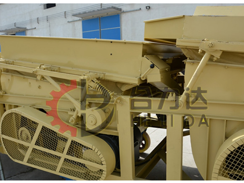 seed double cleaning machine