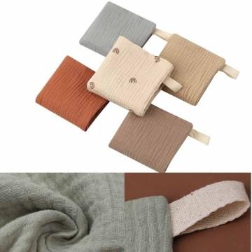 5pcs/set Baby Feeding Towel Soft Absorbent Gauze Bath Towel Newborn Saliva Towel Handkerchief Burp Cloth Facecloth
