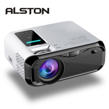 ALSTON E500 LCD Projector 3500 lumens Support 1080P Home Theater Beamer HDMI VGA AV TF USB
