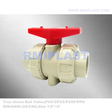 PP Ball Valve Butt Welding DIN