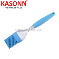 Silicone Food Meat Brush with Transparent Handle