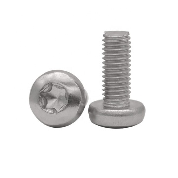 Stainless Steel Hexalobular Socket Round Head Screws ISO14583