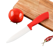 ABS Red Handle 6 Inches Ceramic Knife