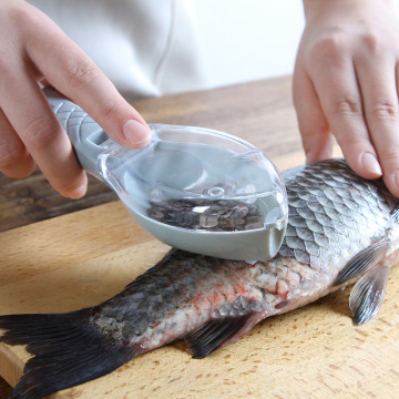 Kitchen accessories Fish skin brush scraping scale brush grater tool disassembly knife cleaning peeler scaler scraper packin