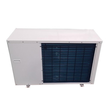 One heat pump for hot water and heating