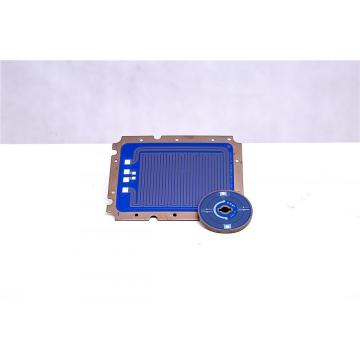 Low power and voltage heating plate