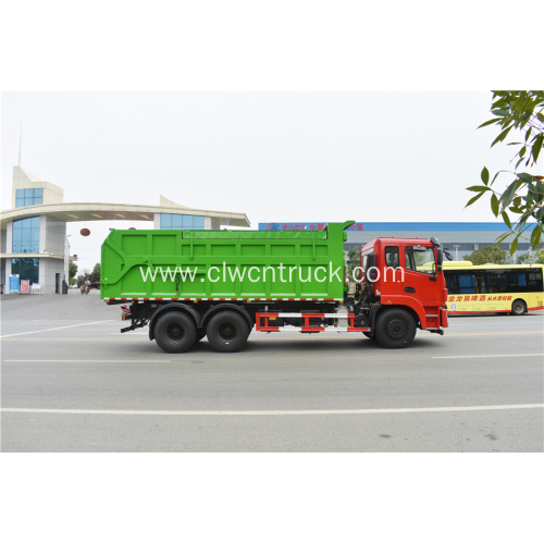 Factory Price DFAC V6 20CBM Waste Reduction Truck