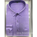 High Class Technique stand collar men shirt