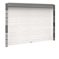 ʻO Aluminum Alloy Sectional Garage Door For House