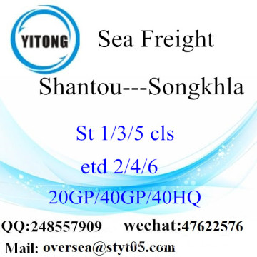 Shantou Port Sea Freight Shipping To Songkhla