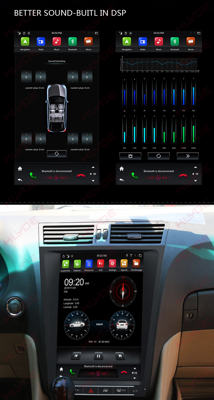 Lexus GS300/GS460 GS450/GS350 2011 android car radio
