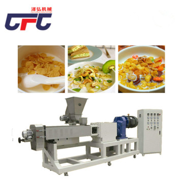 automatic corn flake screw extruder production line