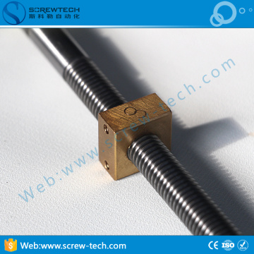 36mm lead screw with thread for Tr36*6