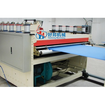 PP hollow board production plant