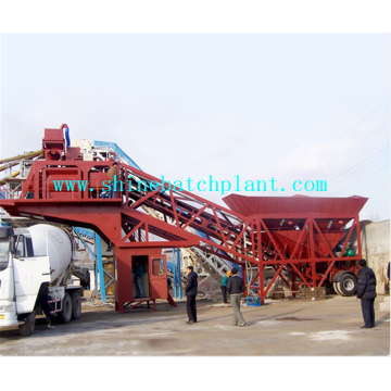 75 Mobile Concrete Batching Machine