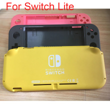 2020 Original Replacement Shell Case Upper bottom faceplate for Switch Lite case cover NS Game Console shell housing TOP +Button