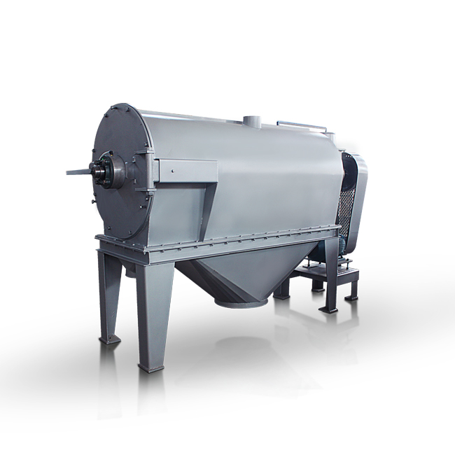 Centrifugal sifter with high speed airflow carrier