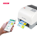 4x6 bluetooth thermal shipping label barcode printer