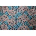 Nylon Rayon Cotton Cord Lace Fabric