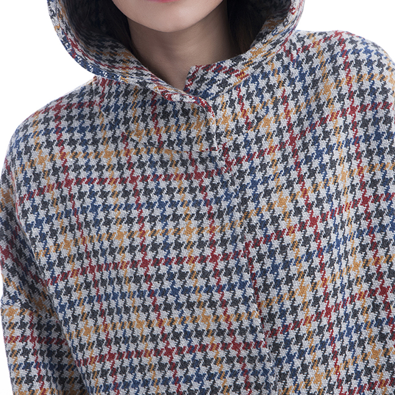 2019 Colour Checked Cashmere Winter