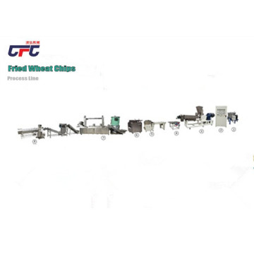 Fried Wheat Flour Chips Production Machine