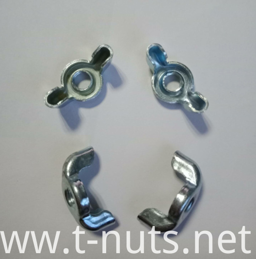 M6 Carbon Steel Zinc Plating Wing Nuts
