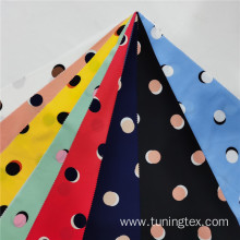 Four Way Spandex Dot Print Fabric