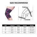 Nylon Elastic Articulated Knee Brace Support