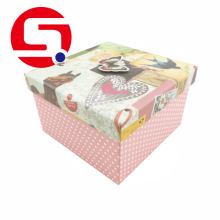 Custom Square Presentation Gift Boxes with Lid