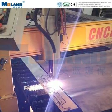 Fume Extraction System for CNC Plasma Cutting
