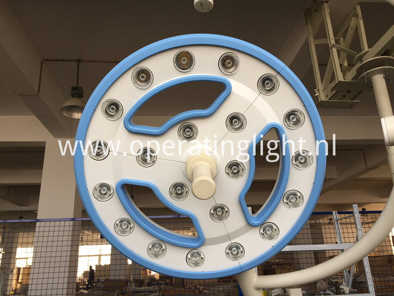 Hollow led operating lamp
