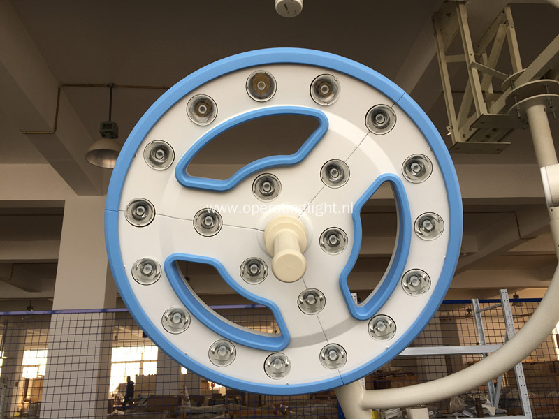 Single hollow led shadowless light