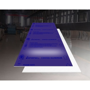1200mmx2400mmx1.6mm - Light Purple Aluminum Sheet