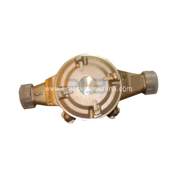 NSF Free Lead Bronze or Brass Awwa C708 Water Meter body