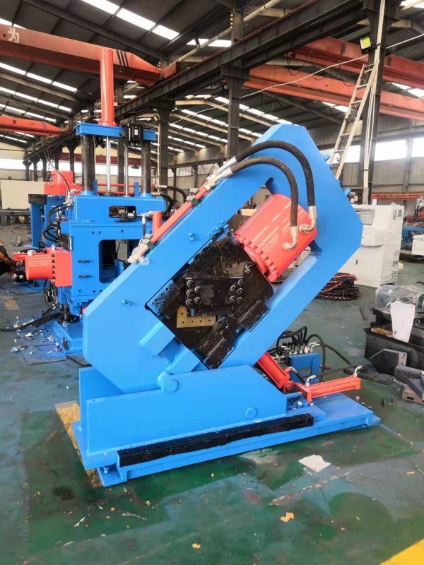Single-blade CNC Angle Iron Punching Cutting Machine